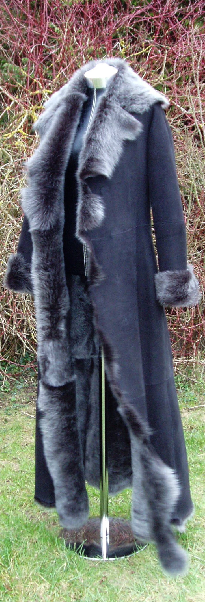 Full Length Sheepskin Coat1