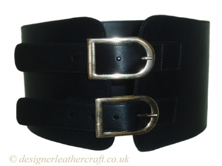 Corset Belt Buckled on First Hole
